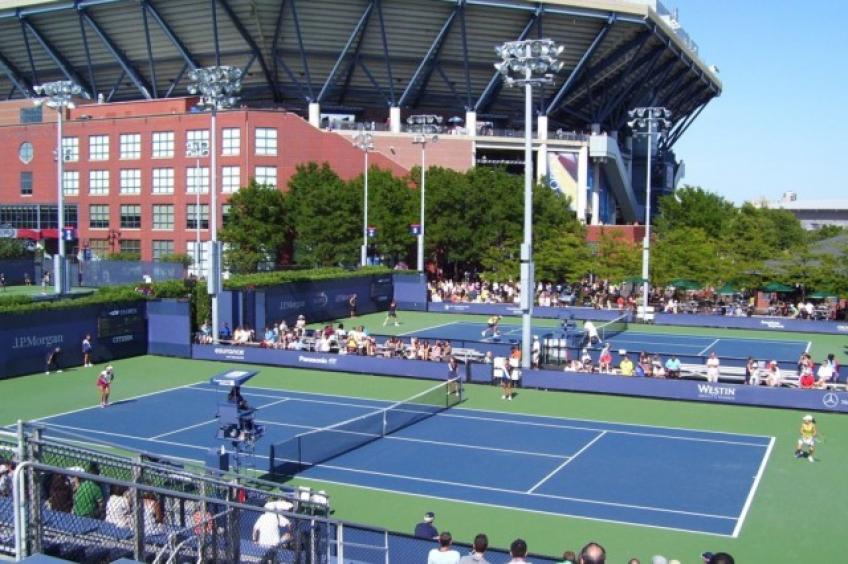 Die spektakulärsten Tennisplätze in der Welt