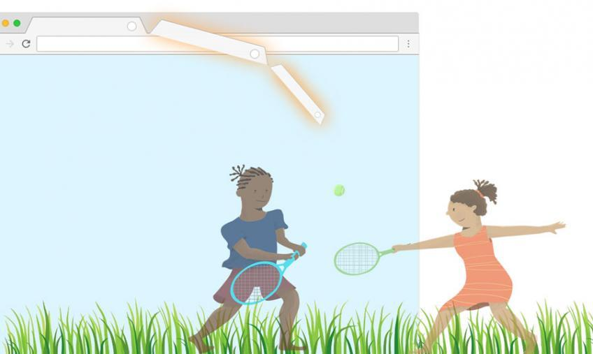 Das kleine TAB-Tennis der World Tennis Foundation bringt 528 US-Dollar ein