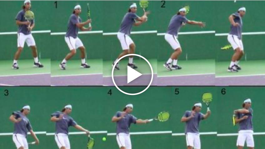 TOPSPIN VORHAND -TENNIS TOP SPIN TECHNIK MIT VIDEO